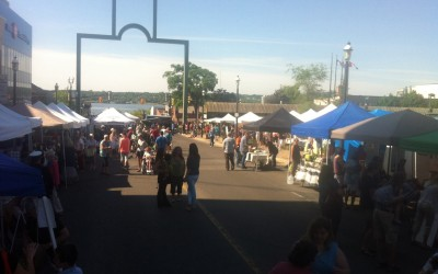 The new Mulcaster Street market