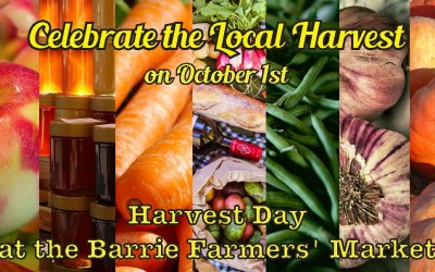 Celebrate Harvest Day on October 1