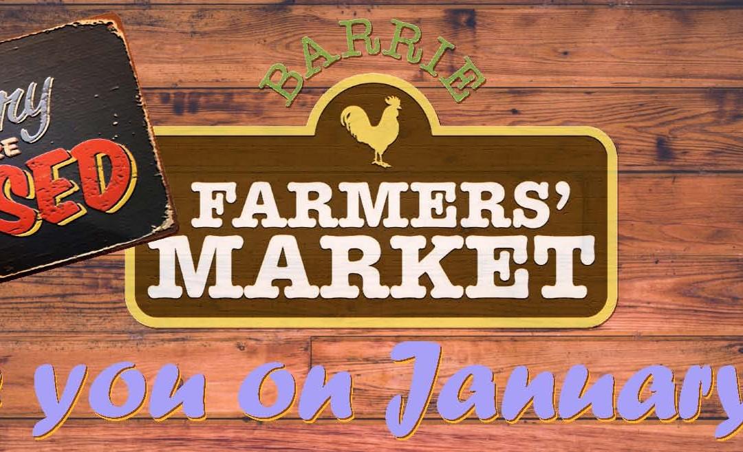 Market closed December 31. Back on January 7.